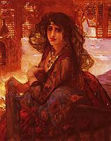 Harem Girl, bridgman