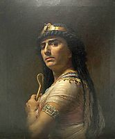 King David, 1877, bridgman