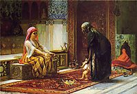 Mother and Child, The First Steps, 1878, bridgman