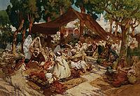 North African Market, 1923, bridgman