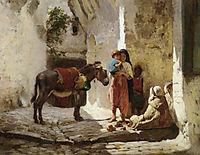 The Orange Seller, 1873, bridgman