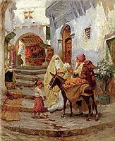 The Orange Seller, 1920, bridgman