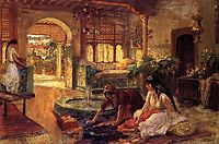 Orientalist Interior, 1900, bridgman