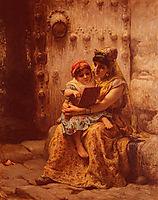 The Reading Lesson, 1880, bridgman