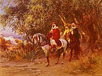 The Return, 1892, bridgman