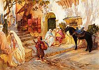 A Street in Algeria, bridgman