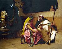 Tete a Tete, Head to Head, 1880, bridgman