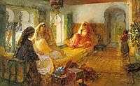 In The Seraglio, 1901, bridgman