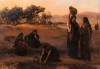 Women Drawing Water From The Nile, bridgman