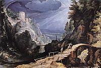 Mountain Scene, 1599, bril