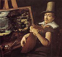 Self-Portrait, 1600, bril
