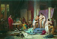 Apelles chooses nudes, bronnikov