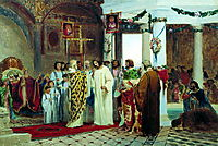 Baptism of Prince Vladimir, 1883, bronnikov
