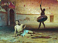 The Dying Gladiator, 1856, bronnikov