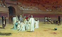 Entering the arena, 1869, bronnikov