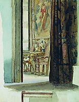 Fragment of the interior, bronnikov
