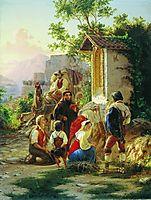 In the chapel, 1858, bronnikov
