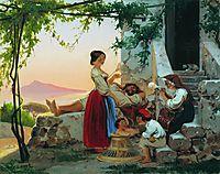In the family, 1856, bronnikov