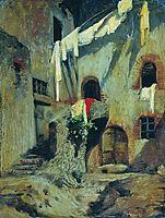 Italian Courtyard, bronnikov