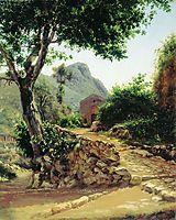 Landscape with Tree, bronnikov