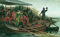 Meeting of princess, 1883, bronnikov
