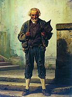 The old beggar, 1869, bronnikov