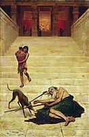 Parable of Lazarus, bronnikov