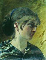 Portrait of a Girl, bronnikov