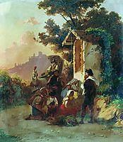 Roadsides shrine, bronnikov