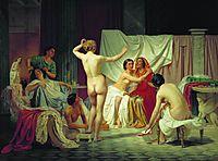 The Roman Baths, 1858, bronnikov
