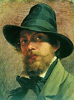 Self-portrait, 1856, bronnikov