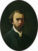 Self-portrait, 1859, bronnikov