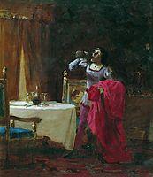 Servant of Cardinal, 1869, bronnikov