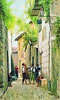 Street in Italian town, bronnikov