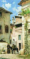 Street in Italy, bronnikov