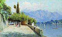 View of Lake Como, 1897, bronnikov