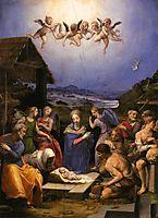 Adoration of the Shepherds , c.1540, bronzino