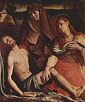 The Dead Christ with the Virgin and St. Mary Magdalene, 1530, bronzino