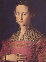 Eleonora da Toledo, 1543, bronzino