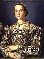 Eleonora da Toledo, 1562, bronzino