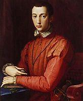 Francesco I de- Medici, Grand Duke of Tuscany, bronzino