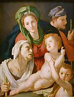 Holy Family, bronzino
