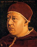 Pope Leo X, c.1560, bronzino