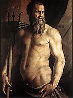 Portrait of Andrea Doria as Neptune, c.1552, bronzino