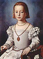 Portrait of Bia de- Medici, 1542, bronzino