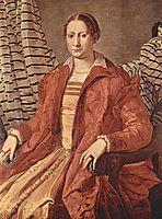 Portrait of Eleonora da Toledo , c.1555, bronzino