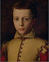 Portrait of Ferdinando de- Medici , bronzino