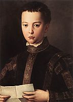 Portrait of Francesco I de- Medici , 1551, bronzino