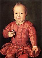 Portrait of Giovanni de- Medici, 1545, bronzino