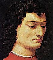 A portrait of Giuliano di Piero de- Medici, bronzino